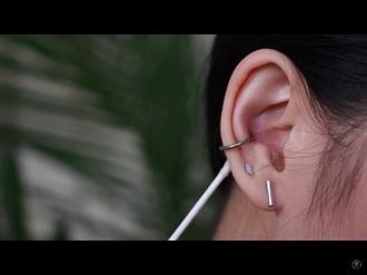 jewels silver jewelry geometric earrings ear piercings piercing tumblr