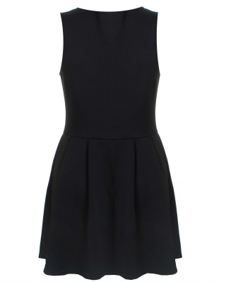 LOVE Black City Dress - In Love With Fashion