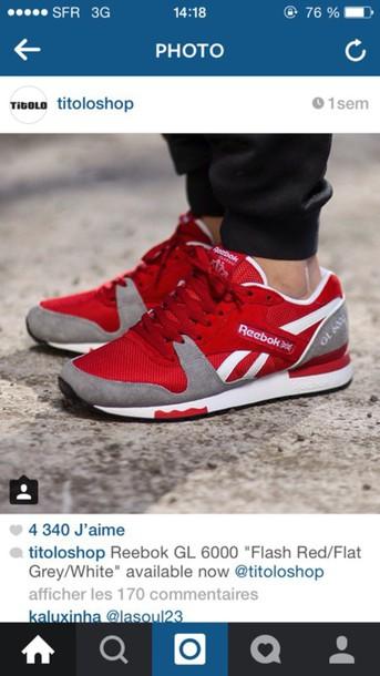 shoes redheels Reebok reebok classics reebok shoes sneakersaddict sneakers