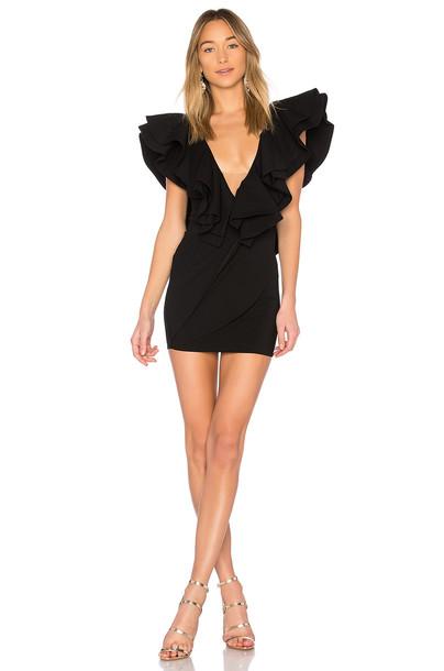 Michael Costello x REVOLVE Jackson Dress in black
