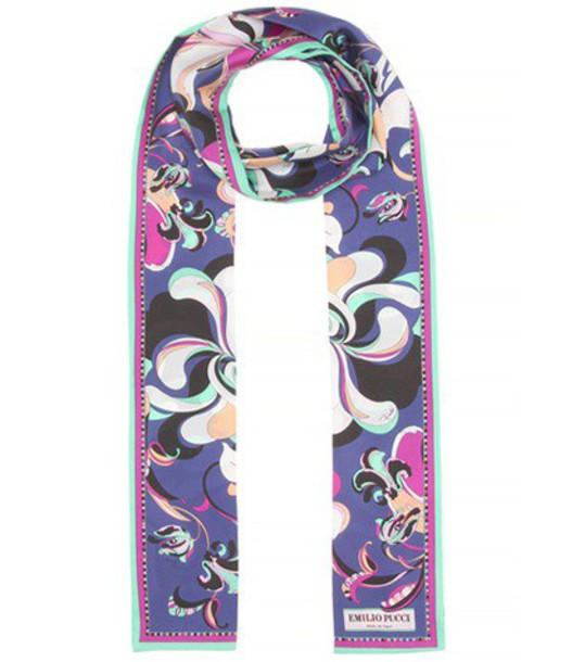 Emilio Pucci scarf silk scarf silk