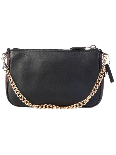 coach handbag cherry black bag