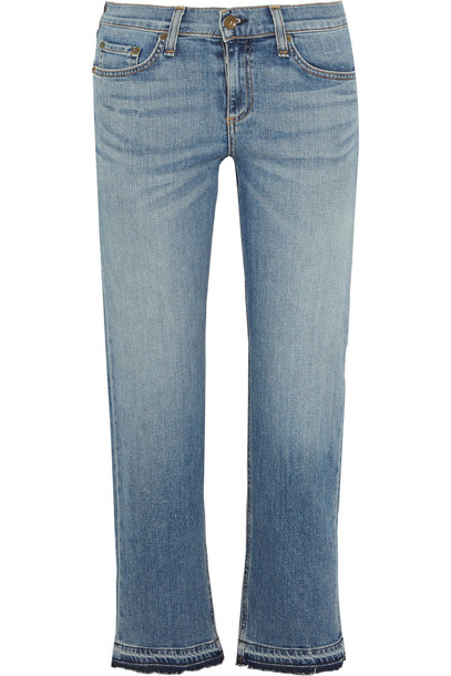 Rag & Bone jeans cropped denim light