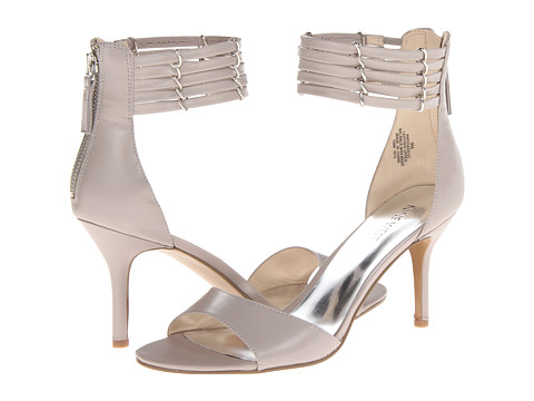 Nine West Ghadess Grey Leather - Zappos.com Free Shipping BOTH Ways