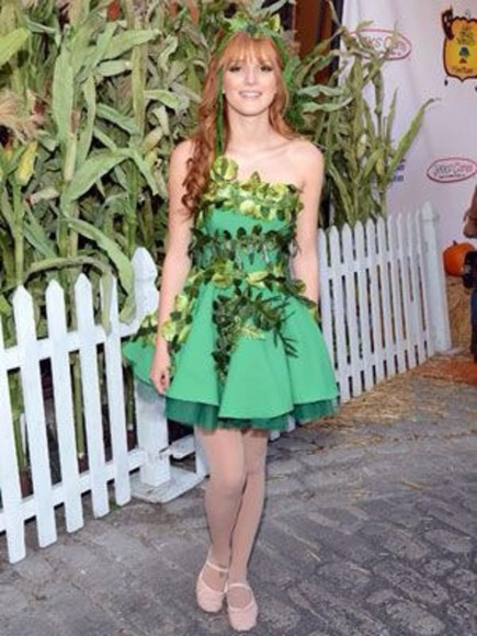 dress red carpet bella thorne ivy costume stars red carpet outfit