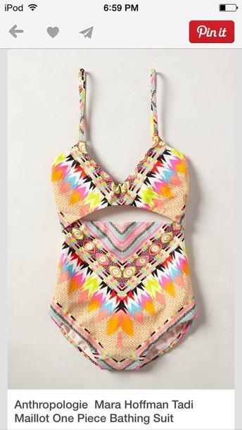 swimwear, printed swimwear, printed swimsuit, tropical, tropical ...