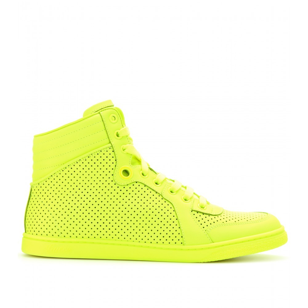 Gucci neon yellow