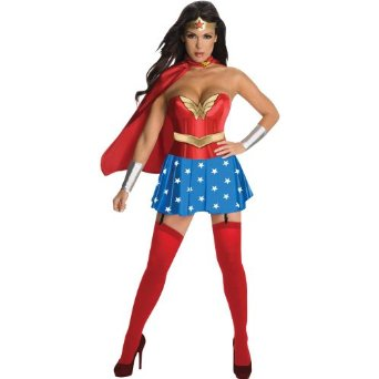 Amazon.com: rubie's wonder woman corset costume adult small 889897