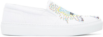 tiger sneakers white shoes