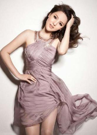 dress party dress wedding dress elgant dress purple purle dress clothes