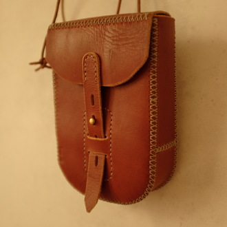 bag handcrafted leather pouch leather pouch waist bags belt pouch