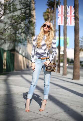 angel food t-shirt jeans belt shoes bag sunglasses