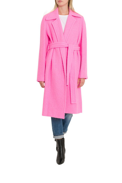 Helmut Lang Dressing Gown Coat in pink