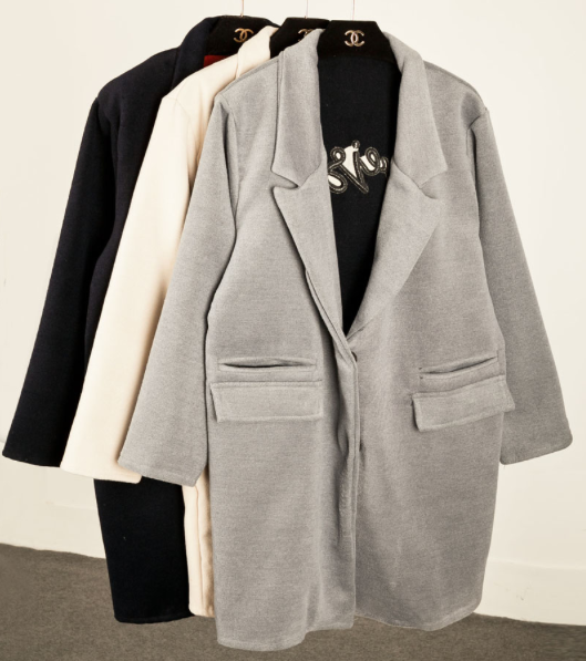 The parisien embroidery coat