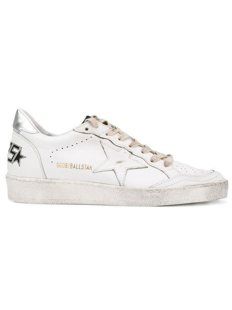 Golden Goose Deluxe Brand - Ball Star sneakers - women - Calf Leather/Leather/rubber - 36, White, Calf Leather/Leather/rubber