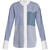 Keating point-collar striped cotton shirt
