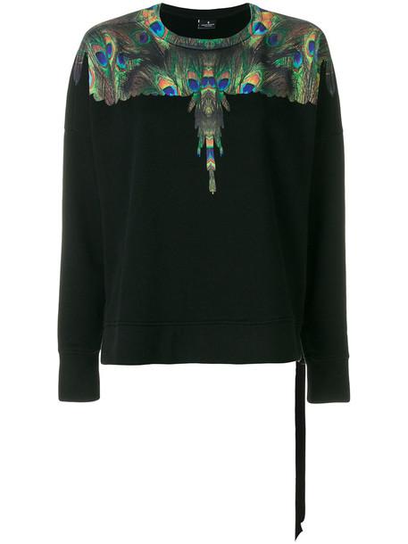 Marcelo Burlon County Of Milan - Auca sweatshirt - women - Cotton - XXS, Black, Cotton
