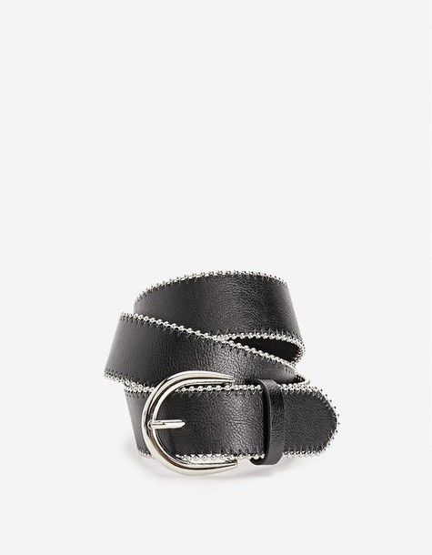Stradivarius belt black