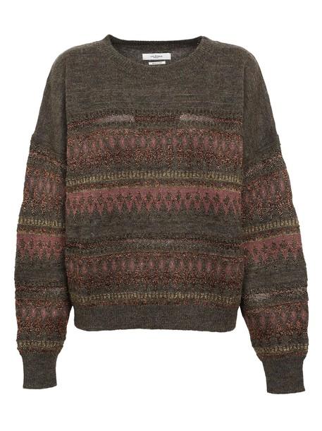Isabel Marant etoile jumper jacquard multicolor sweater