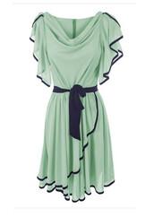 dress,mint,grecian,summer dress,flowy,mint dress