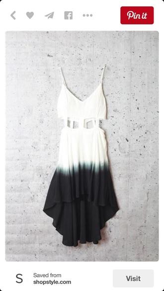 dress ombre dress ombre bleach dye ombre boho dress bohemian white dress summer dress bodycon dress