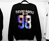 sweater,pullover,kyary pamyu pamyu,98,black,japanese,deer,metallic,jersey,sportswear,shiny,shinning,cool,sparkle,cute,black sweater,lovely,it's so adorable,amazing,japan,sweet,grunge,soft grunge,soft grunge top,top,urban,kawaii,kawaii dark