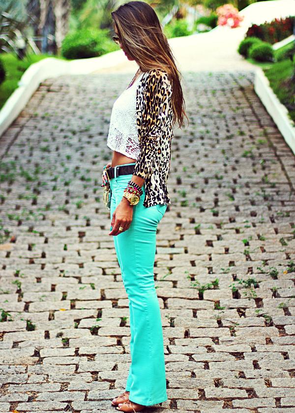 Calça Jeans colorida by Mac'Stile jeans | Decor e Salto Alto - Blog de Moda