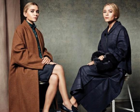 mary kate olsen olsen sisters coat