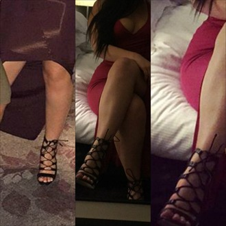 shoes heels high heels black heels strappy heels skirt