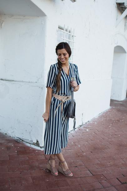 mint arrow blogger jumpsuit belt bag shoes jewels