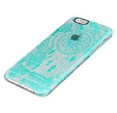 phone cover,blue,turquoise,iphone 6 case,dreamcatcher
