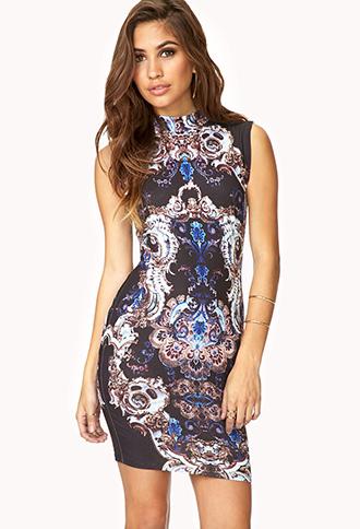 Baroque Dress | FOREVER21 - 2000090427