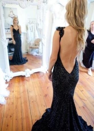dress prom dress backless dress