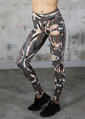 leggings active bottom bottoms equilibrium print bikiniluxe