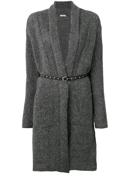 cardigan cardigan long women wool grey sweater