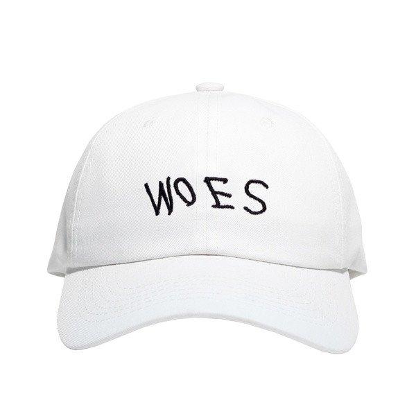 WOES White - Baseball Cap