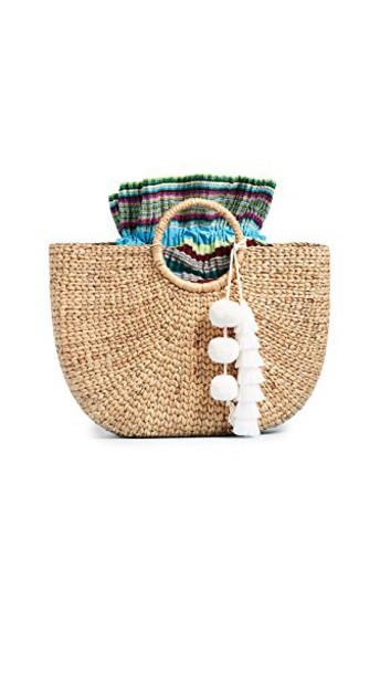 JADEtribe pastel white bag