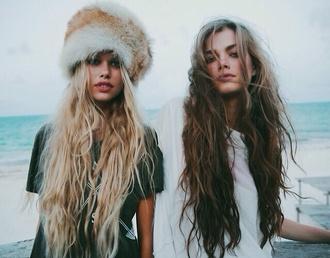 hat fur fluffy cute cool soft grunge grunge fox rouge fur hat hairstyles winter swag