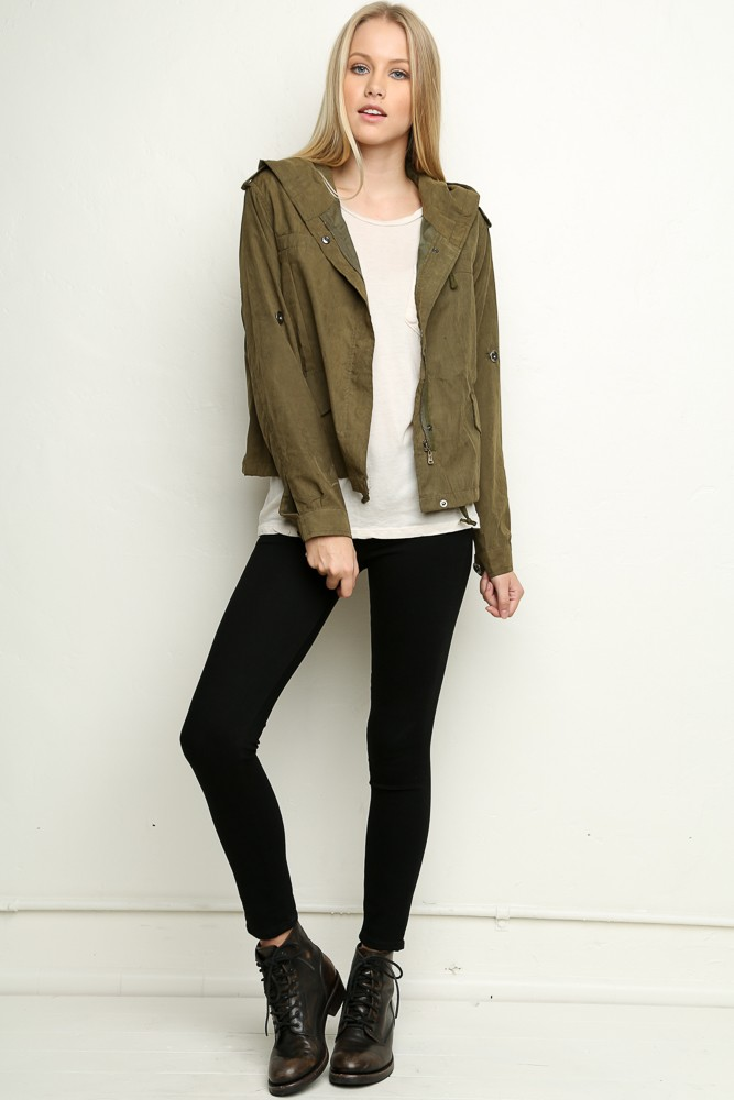 Brandy ♥ Melville   Hailey Jacket - Jackets - Outerwear - Clothing