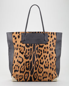 Alexander wang prisma calf hair tote bag
