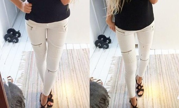 jeans white must have