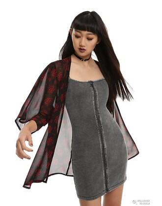 dress grey dress zipper dress bodycon dress