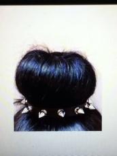 jewels,spiked headband,spikes,cute,kawaii,black,silver