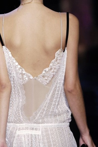 dress lace dress delicate summer dress white dress