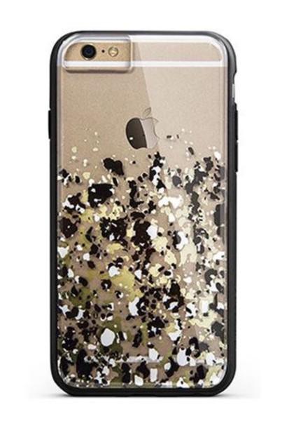 phone cover gold glitter