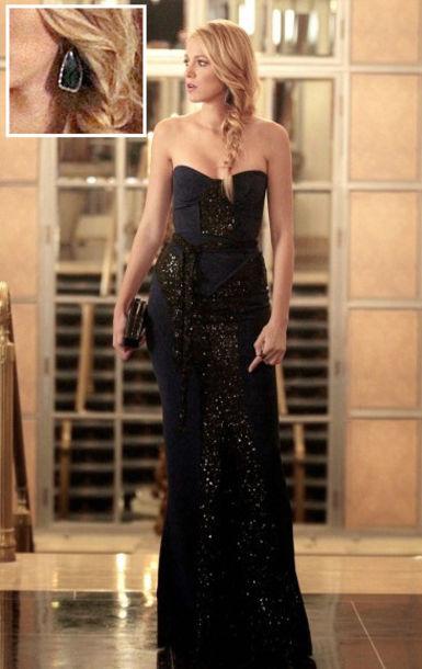 blake lively black dresses - photo #37
