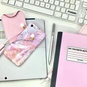 phone cover,yeah bunny,marble,iphone case,cute,pink,pastel,pink marble