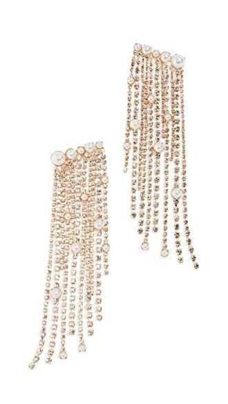 earrings clear pearl jewels