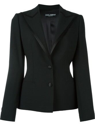 blazer women spandex black silk satin jacket