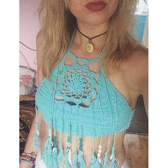 top rose wholesale mint boho hippie beach summer outfits necklace